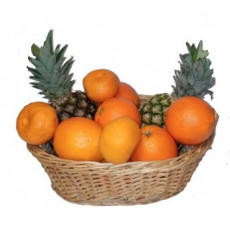Pineapple and citrus basket 7 kg