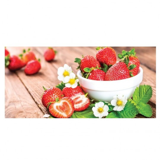 Card Strawberries 10x21 cm