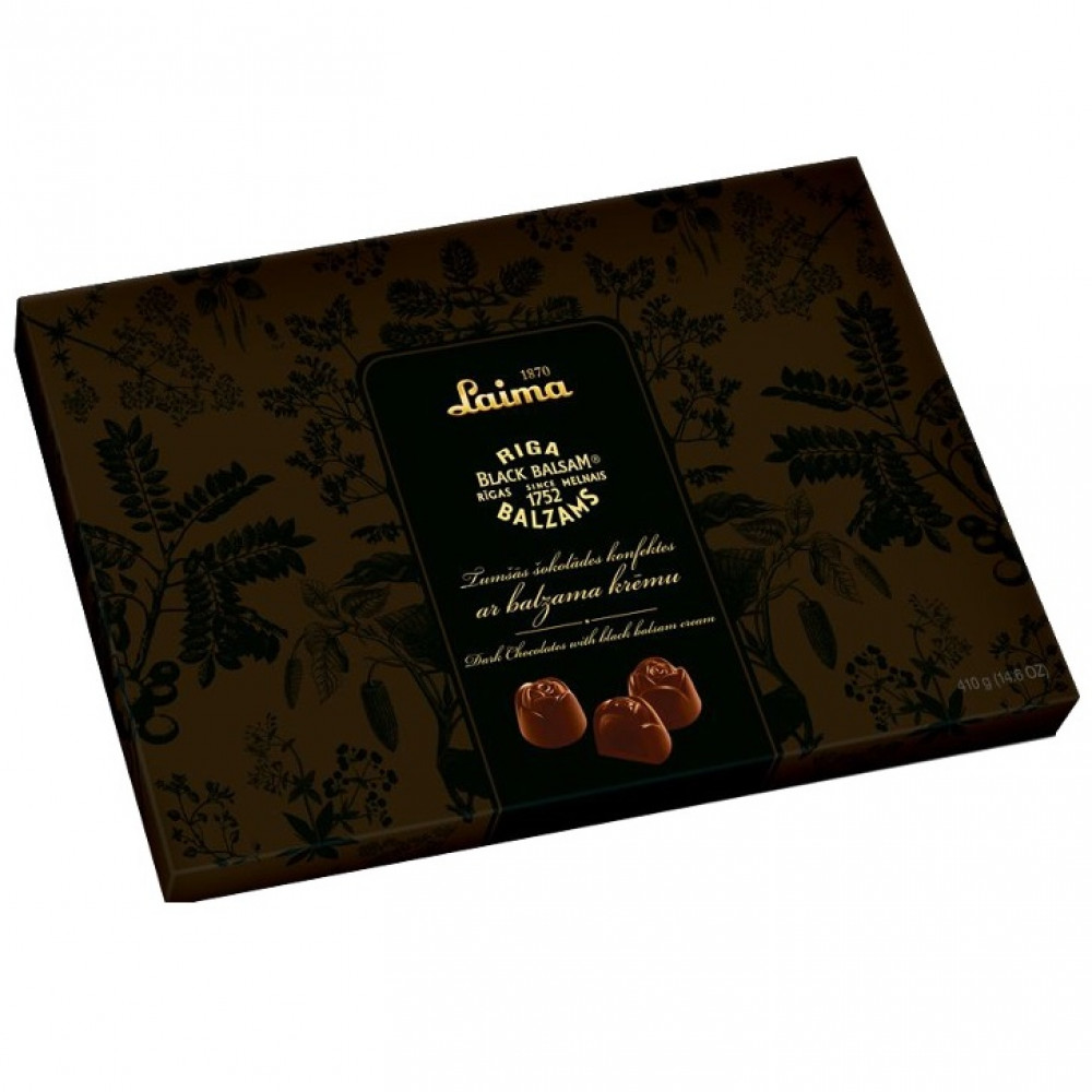 Chocolates Laima Black Balsam 410g