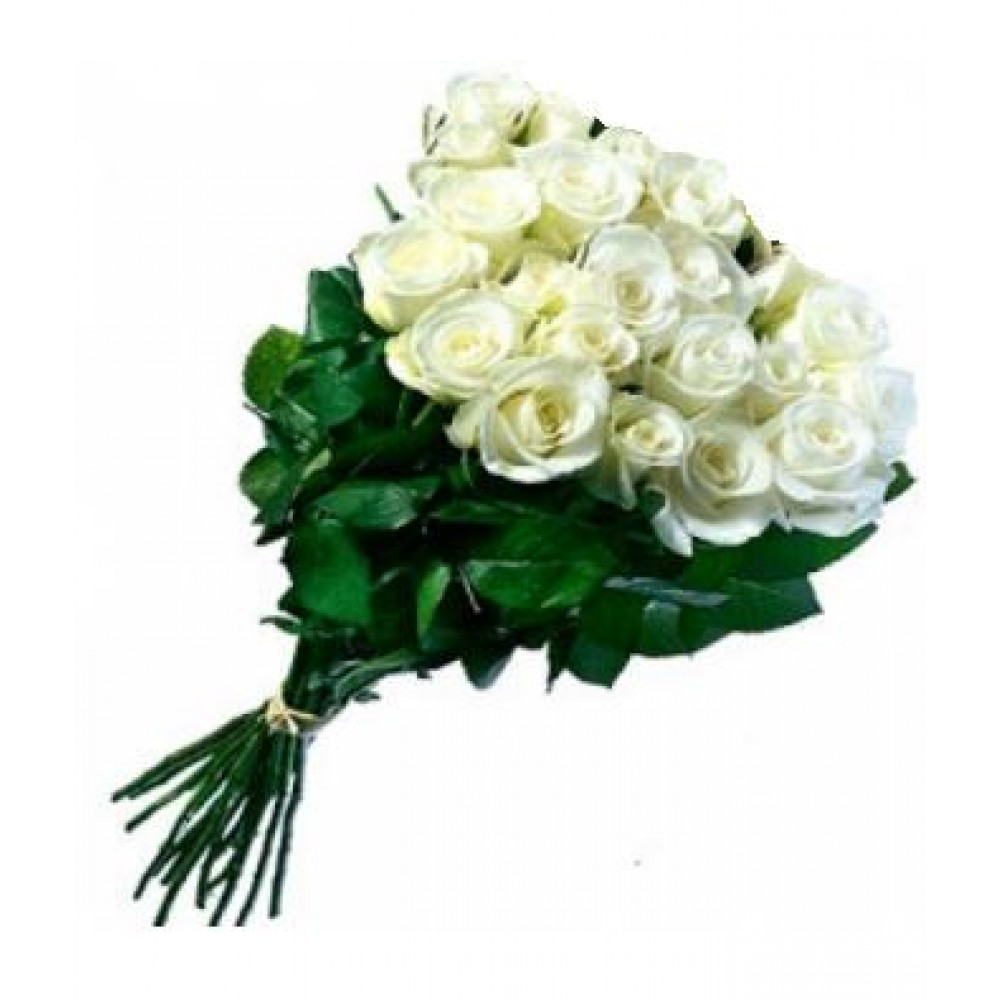 Flower Delivery Long Stemmed White Roses Flower Courier In Riga