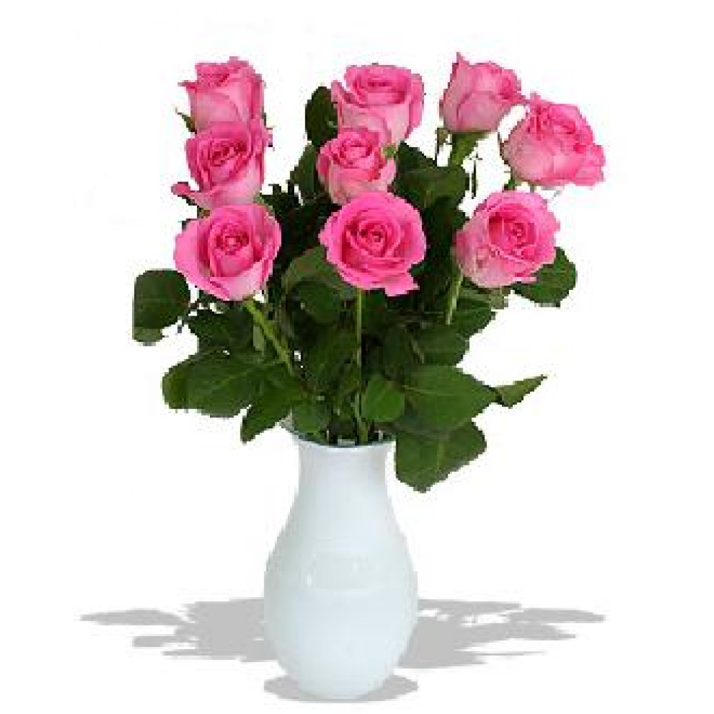 Pink rose bouquet with free shipping in riga fresh flowers changeable amount of rose in bouquet izmirmasajfo