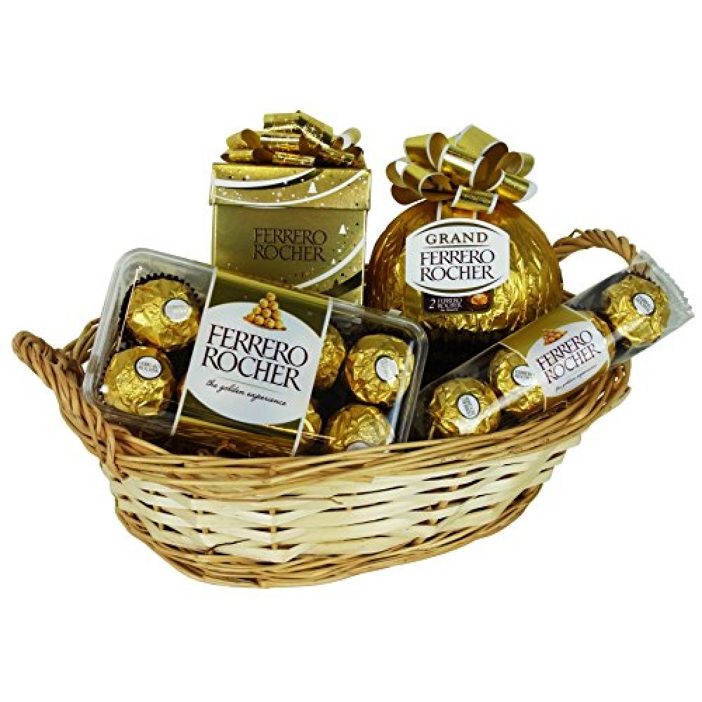 Ferrero Christmas Gift Basket with delivery in Riga and Riga district