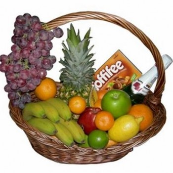 Sweet and fruit basket (6 kg)