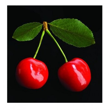 Greeting Card Cherries 13x13 cm