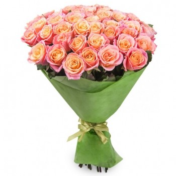Pink roses 60 cm (select number)