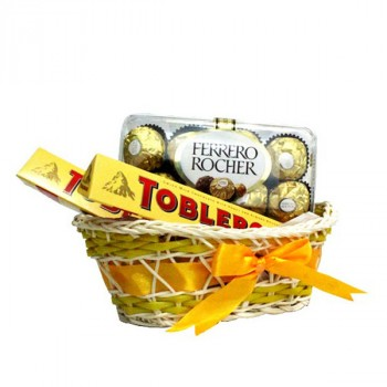 Mini sweet basket