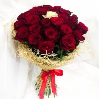 Bouquet of Roses The One 50 cm (select number of roses)