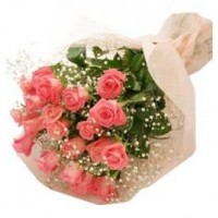 Pink rose bouquet 50 cm